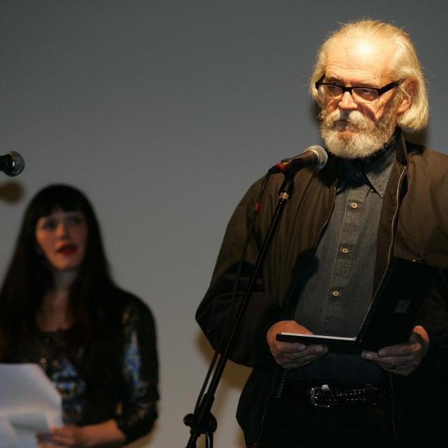 Fabijan Šovagović kao Matija Gubec u Mimičinoj 'Seljačkoj buni 1573.'<br />