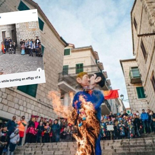 Osude za spaljivanje lutke istospolnog para u Imotskom stižu sa svih strana