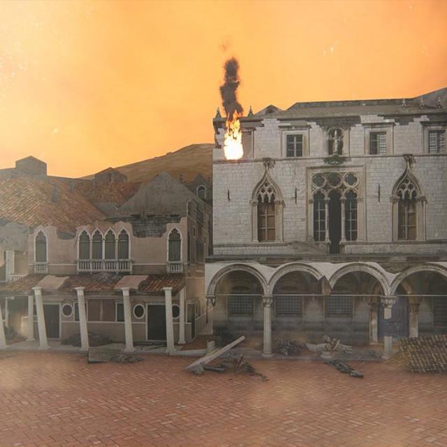Konačno je finalizirana animacija 3D modela Dubrovnika prije velikog potresa iz 1667. godine i postavljena na YouTube, autora umirovljenika Stipana Ujdura iz Opuzena