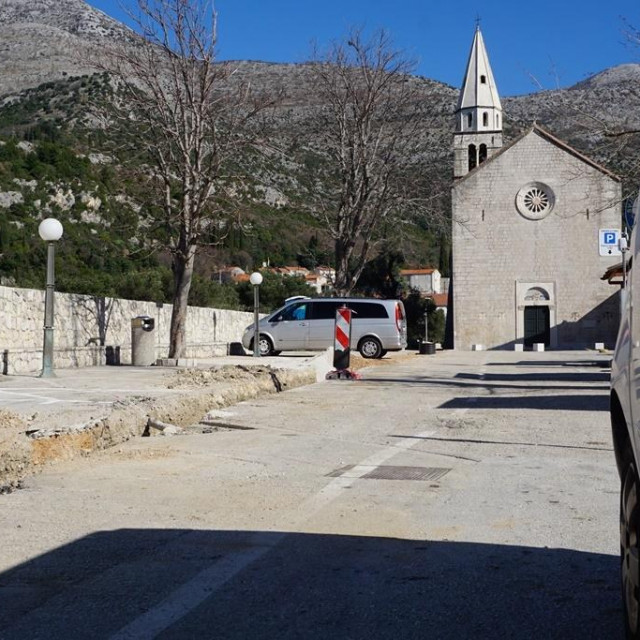 Vodovod Dubrovnik u Slanome mijenja dotrajali cjevovod