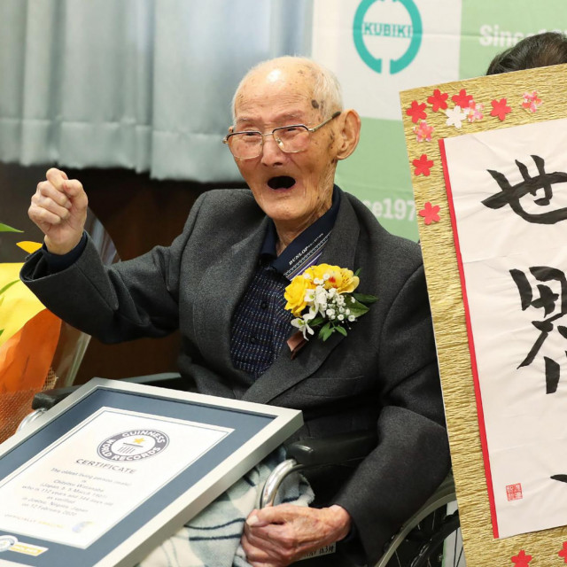 Chitetsu Watanabe umro je u 113. godini