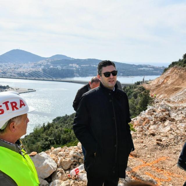 Gradonačelnik Dubrovnika Mato Franković obišao je radove na Pobrežju