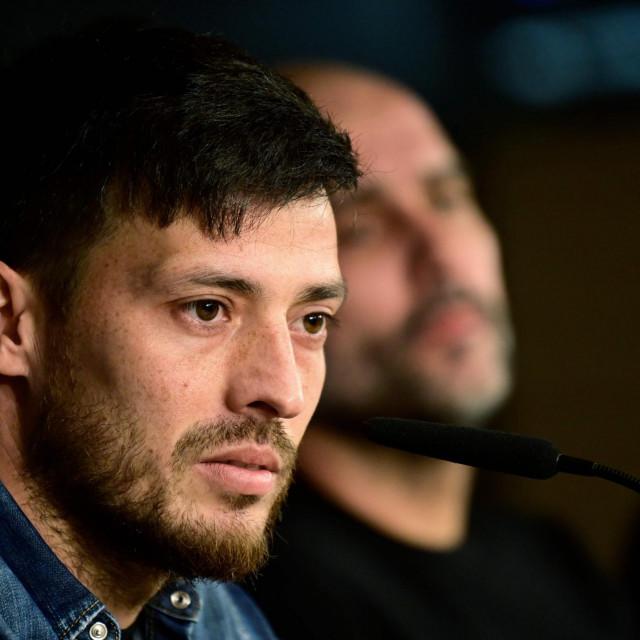 Guardiola i Silva na press konferenciji