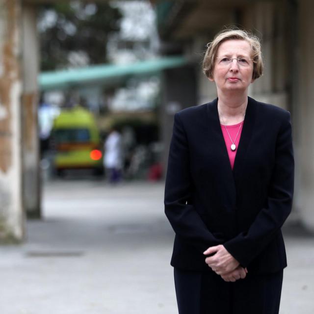 Dr. Alenka Markotić ravnateljica jeKlinike za infektivne bolesti Fran Mihaljević