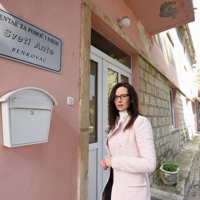 Antonija Tokić, sada već bivša ravnateljica Centra za pomoć i njegu