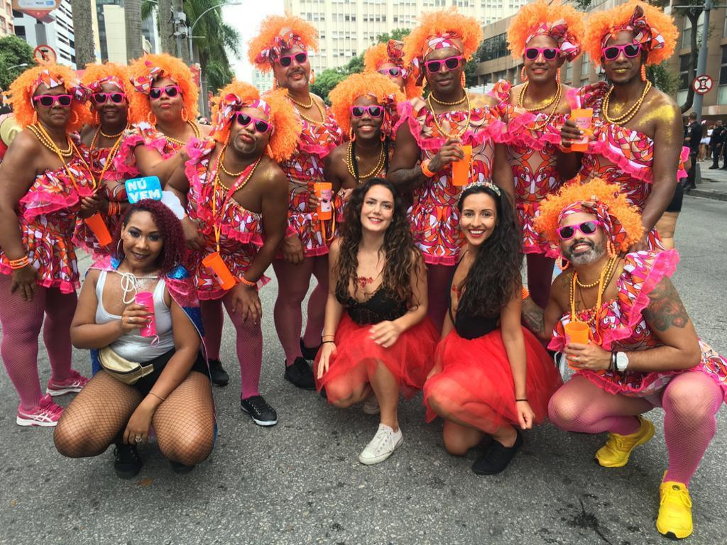 Marina i prijateljica Farah uživale su tjedan dana u srcu najluđe zabave najpoznatijeg karnevala u Riju de Jeneiro