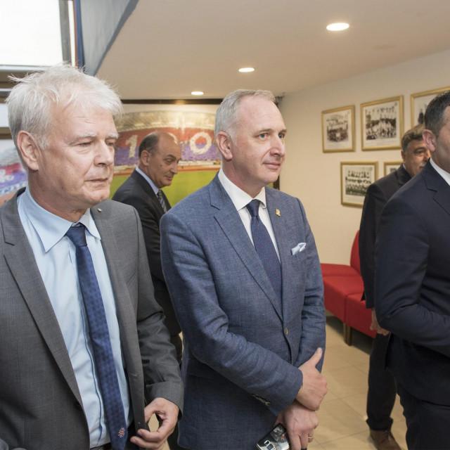 Zajednički sastanak predstavnika grada Splita, Hajduka i HNS-a
