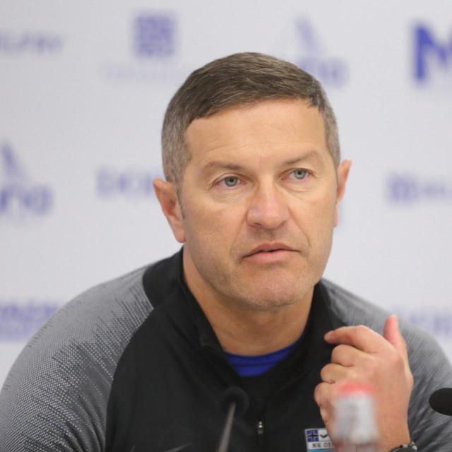 Trener Osijeka Ivica Kulešević