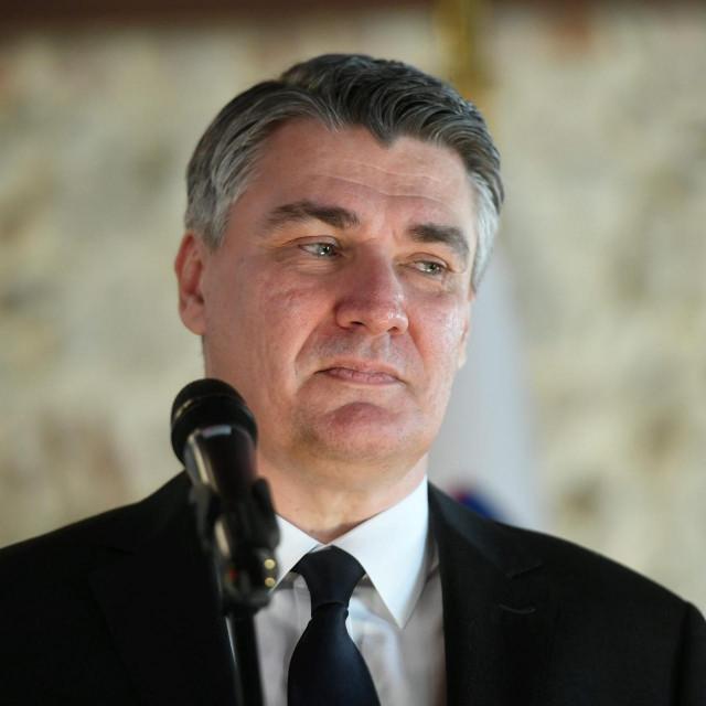 Otocec ob Krki, 270220.<br /> Grajska cesta 2.<br /> Predsjednik RH Zoran Milanovic i predsjednik Republike Slovenije Borut Pahor sastali su se na neformalnom rucku.<br />