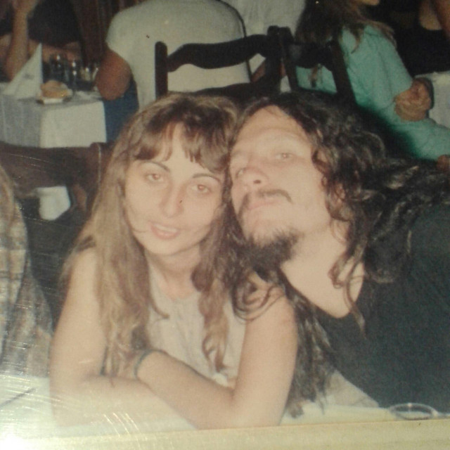 Zadarski rocker Dragan Borović Škembo sa svojom suprugom Snježanom