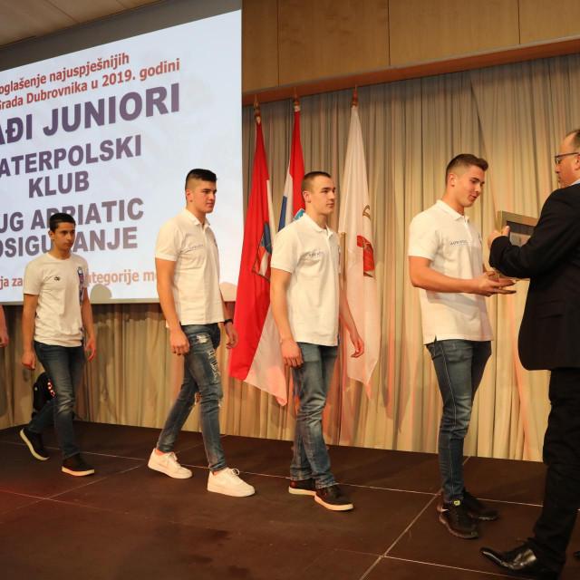 Svečanost proglašenja najuspješnijih dubrovačkih sportaša foto: Božo Radić/HANZA Media