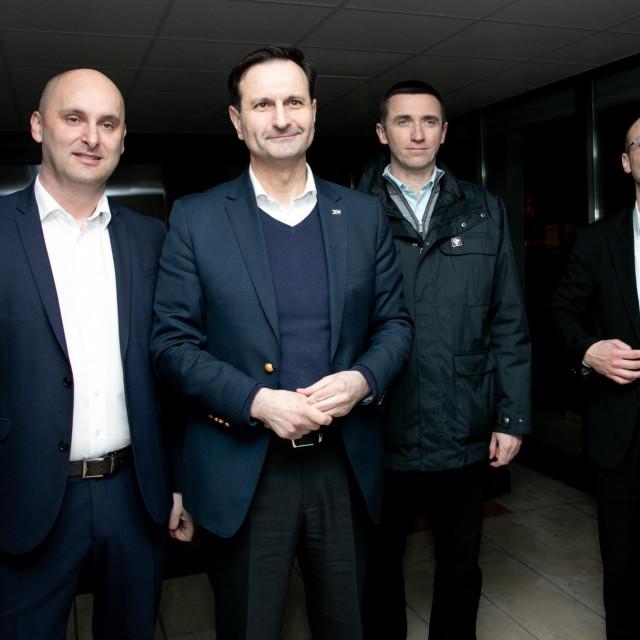 Tomislav Tolusic, Miro Kovac, Ivan Penava, Davor Ivo Stier
