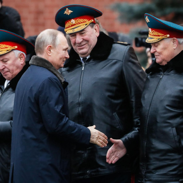 Vladimir Putin samo prave ratnike priznaje