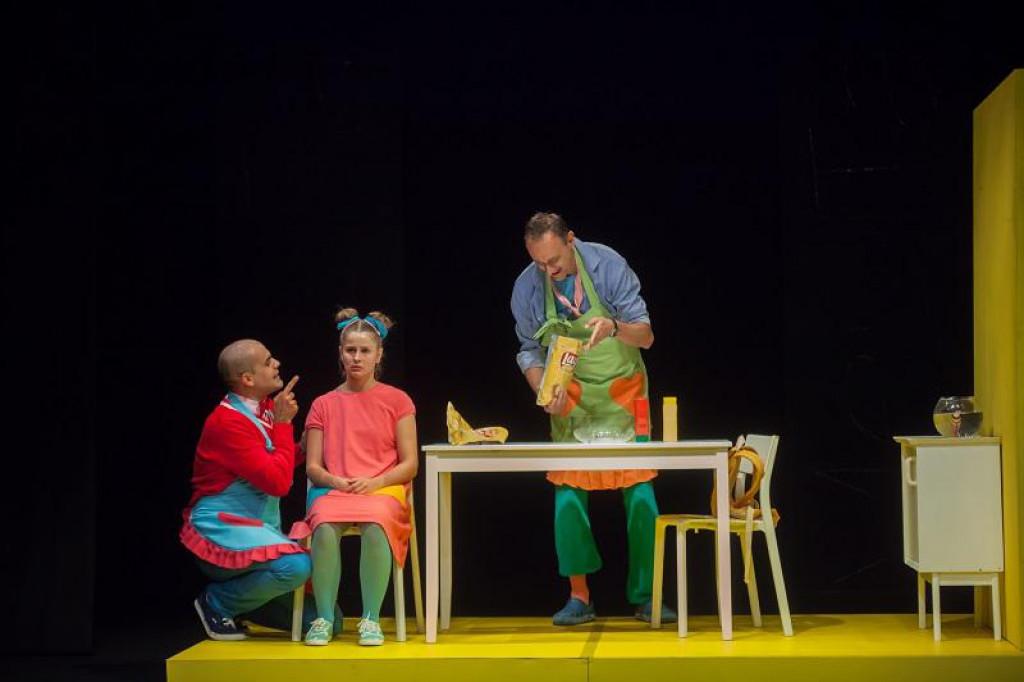 Prizor iz GKL-ove predstave 'Lažeš, Melita'<br />