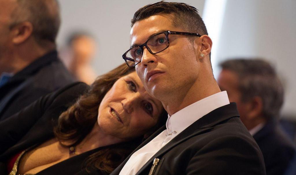 Cristiano Ronaldo i majka Dolores Aveiro