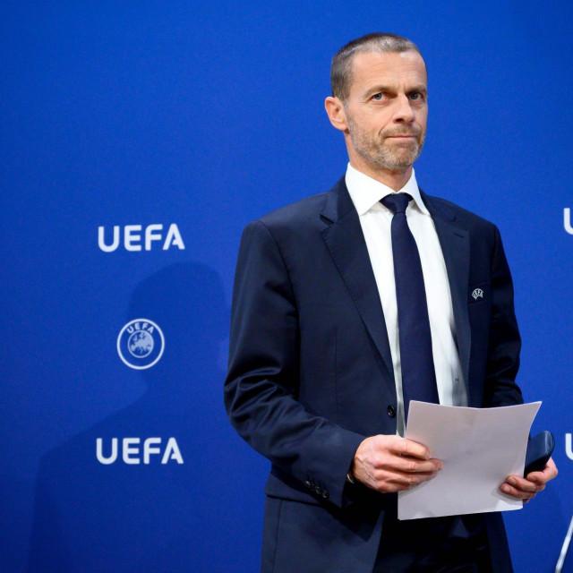 Predsjednik UEFA-e Aleksander Čeferin