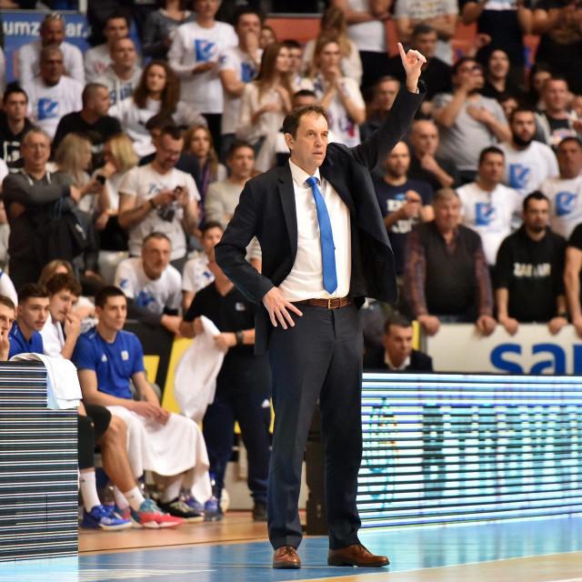 Trener Zadra Danijel Jusup<br />
