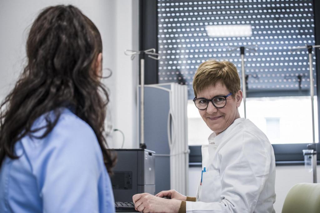 Sanja Jakelić, ravnateljica Opće bolnice Šibenik.<br />