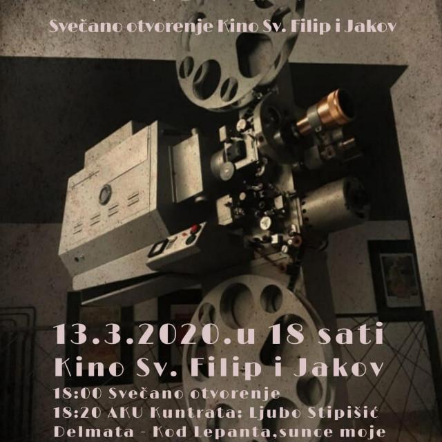 Otvorenje kino dvorane u Sv. Filipu i Jakovu
