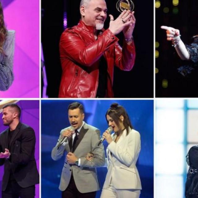 Proglašeni pjevač i pjevačica godine, koncert, film, predstava...