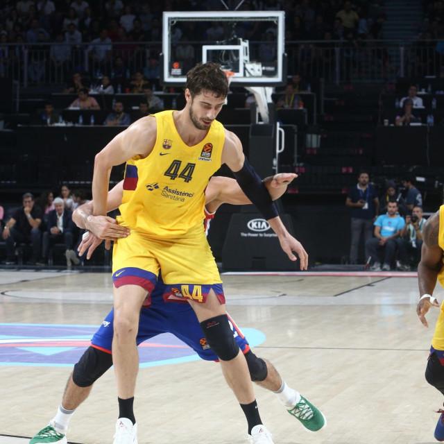 Košarkaška Euroliga: Anadolu Efes - Barcelona (Ante Tomić) foto: Tonči Vlašić