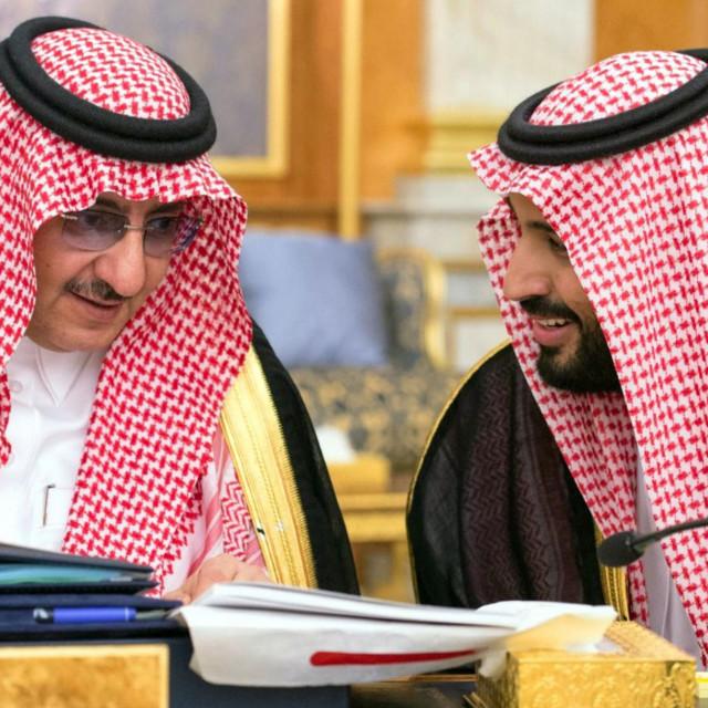 Mohammed bin Nayef i Mohammed bin Salman
