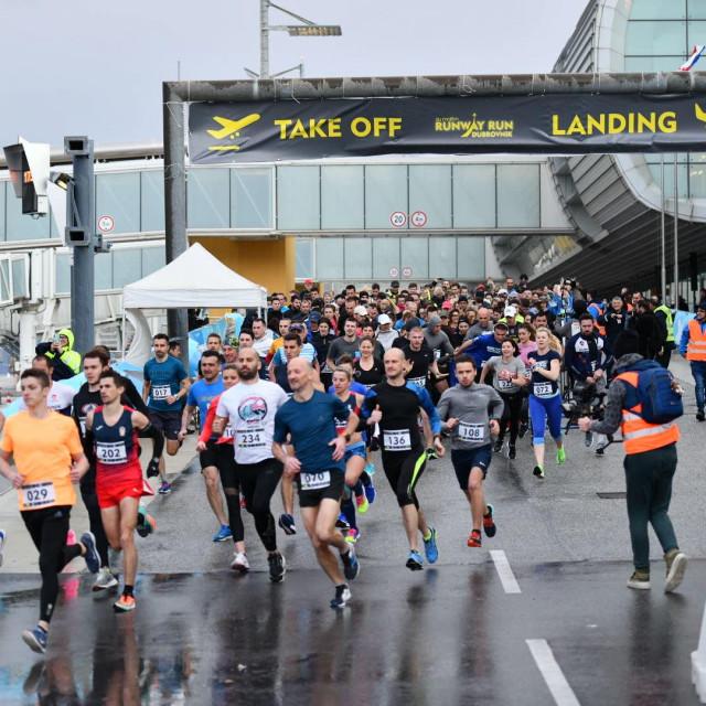 Atletska utrka u Zračnoj luci Dubrovnik foto: Tonći Plazibat/HANZA Media