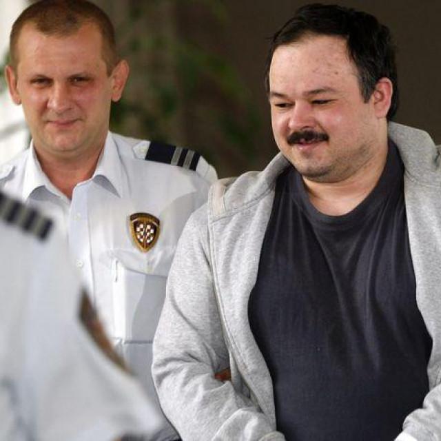 Adamić prilikom izricanja presude za otmicu maloljetnice 2009.