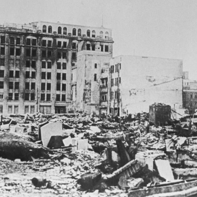 Tokio nakon američkog bombardiranja