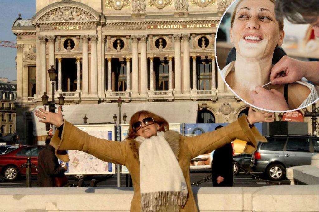 Tereza ispred pariške Olympije i Neda u garderobi showa, u kojem je postala ona