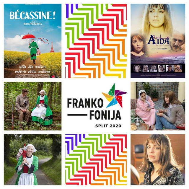 Plakat ovogodišnje frankofone retrospektive
