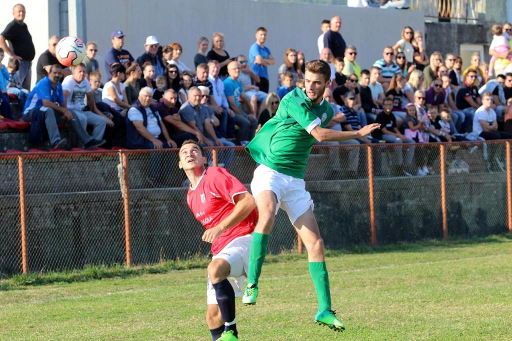 Prva županijska liga: Sokol - Slaven