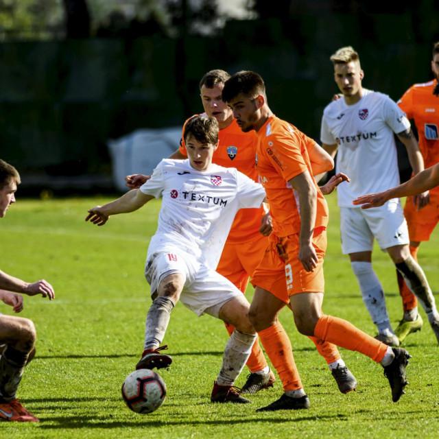 Marko Bulat, nogometaš Šibenika optimist je pred gostovanje kod Hrvatskog dragovoljca