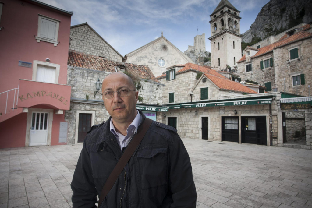 Ivan Kovačić političku je karijeru počeo kao gradonačelnik Omiša
