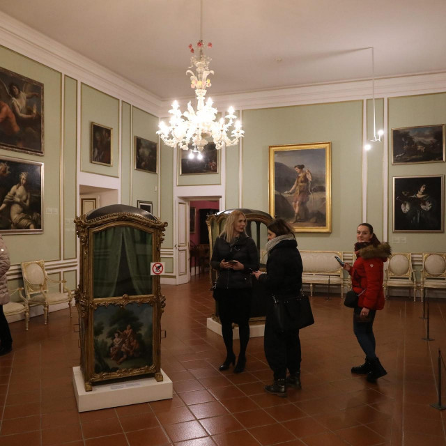 S Noći muzeja u Kneževom dvoru