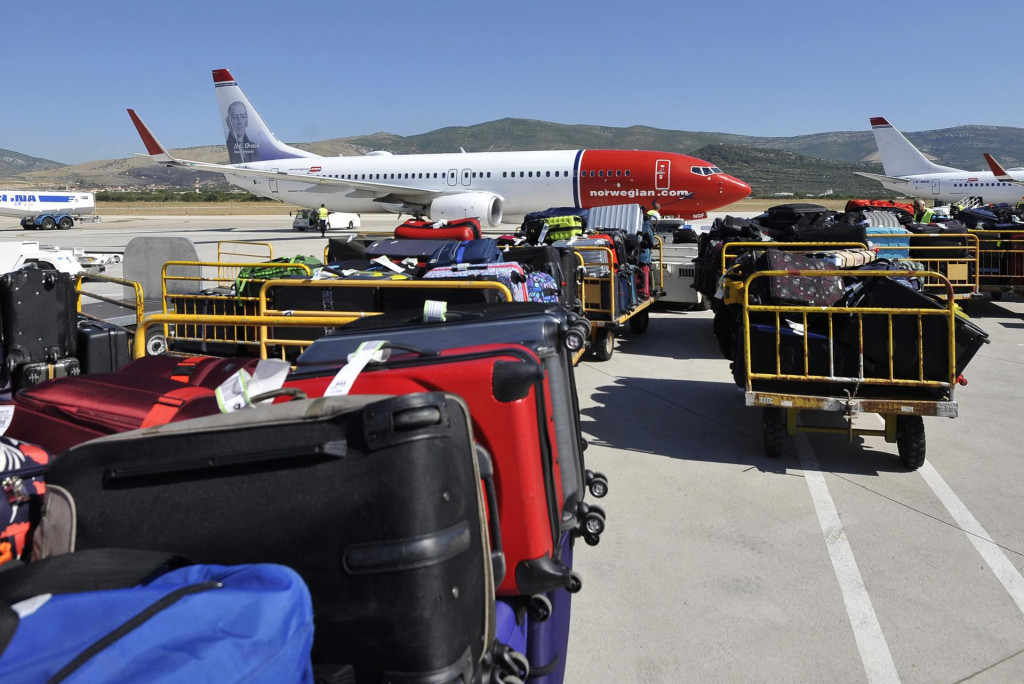Splitska zračna luka proteklih je godina bilježila velik porast broja putnika