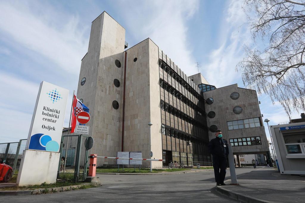 Na fotografiji: Klinicki bolnicki centar Osijek.