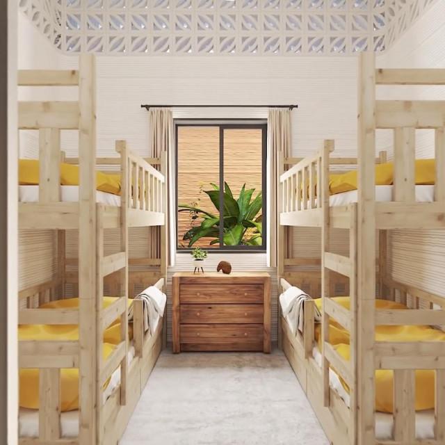 Kućice izgrađene u Teksasu imaju dnevnu sobu, spavaonicu, kupaonicu i mali radni prostor