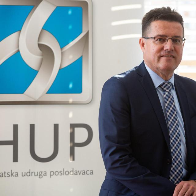 Zdravko Plazonić, predsjednik Izvršnog odbora HUP-a Podružnice Dalmacij
