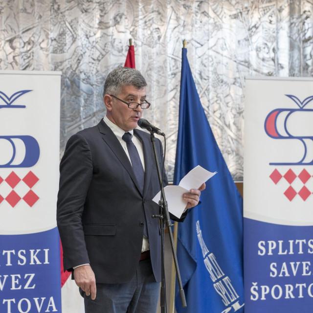 Predsjednik Splitskog sportskog saveza Nenad Periš