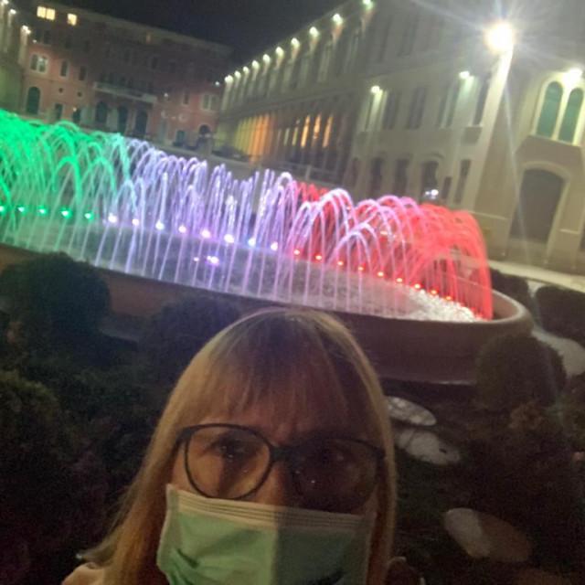 fontana na rivi u bojama Italije
