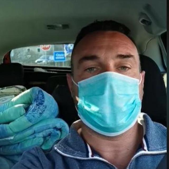 Igor Smiljanić se htio izolirati u prijateljevu kuću u selu u Šibensko-kninskoj županiji, ali onda su susjedi ispalili
