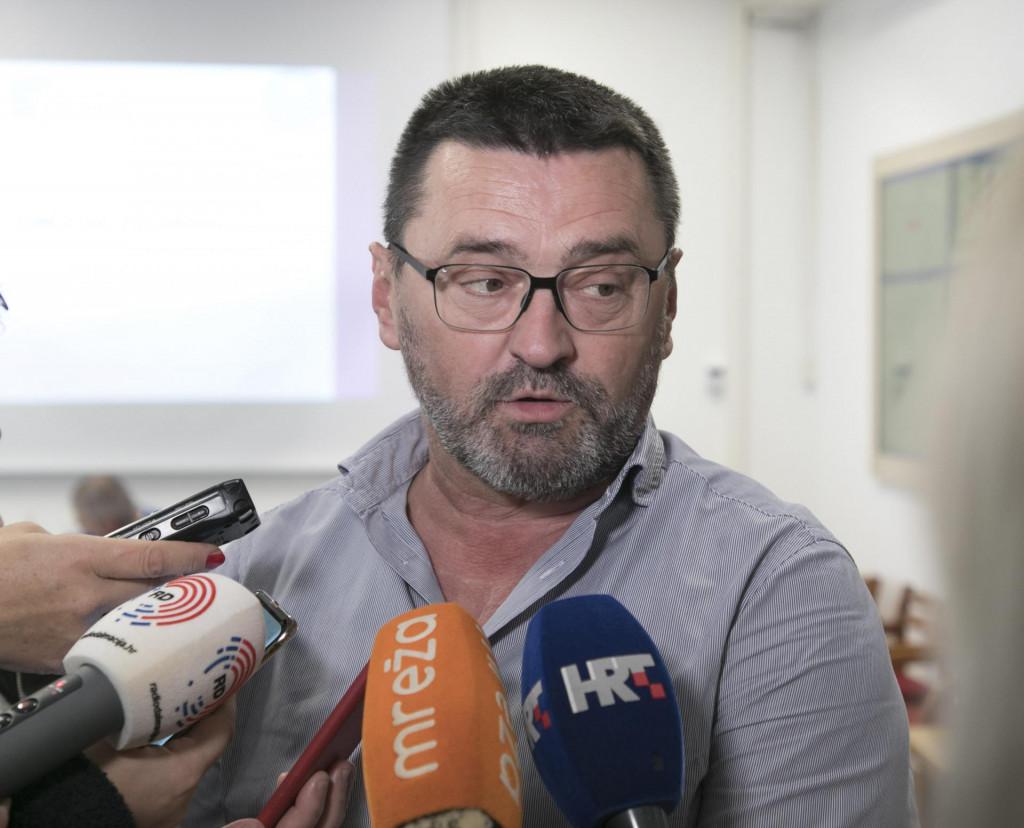 Ante Kvesić, ravnatelj Sveučilišne bolnice Mostar.<br />