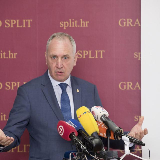 Gradonačelnik Splita Andro Krstulovic Opara
