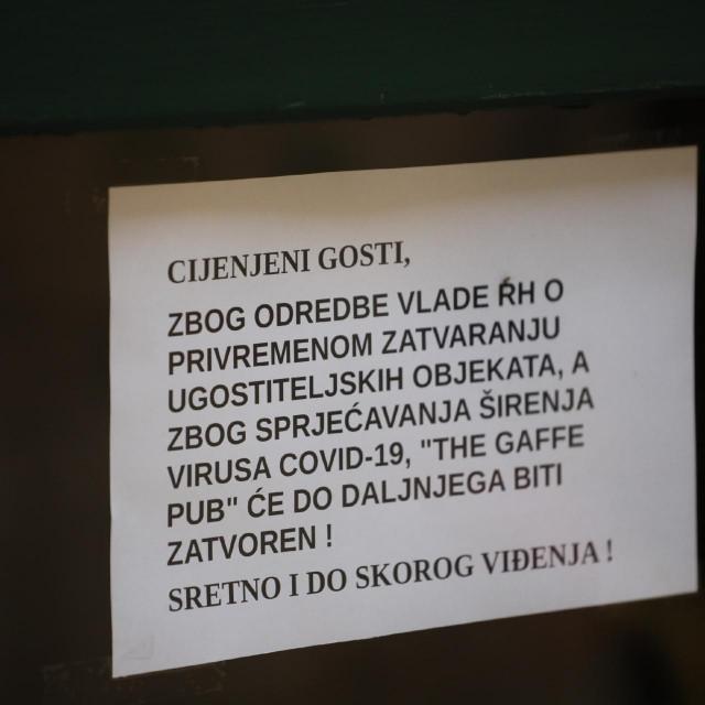Dubrovnik pod mjerama protiv koronavirusa
