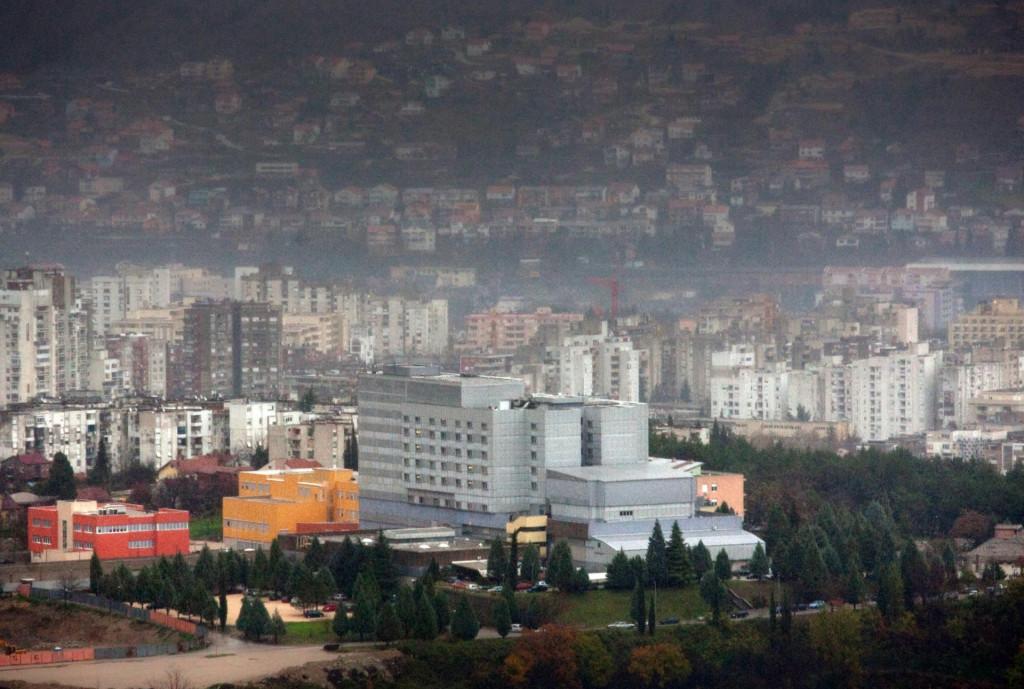 Zgrada bolnice u Mostaru