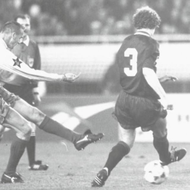 Jedna od povijesnih utakmica Hajduka odigrana je u četvrtfinalu Lige prvaka protiv Ajaxa