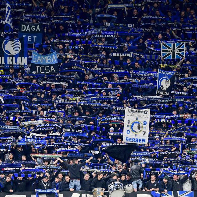 Navijači Atalante u Milanu