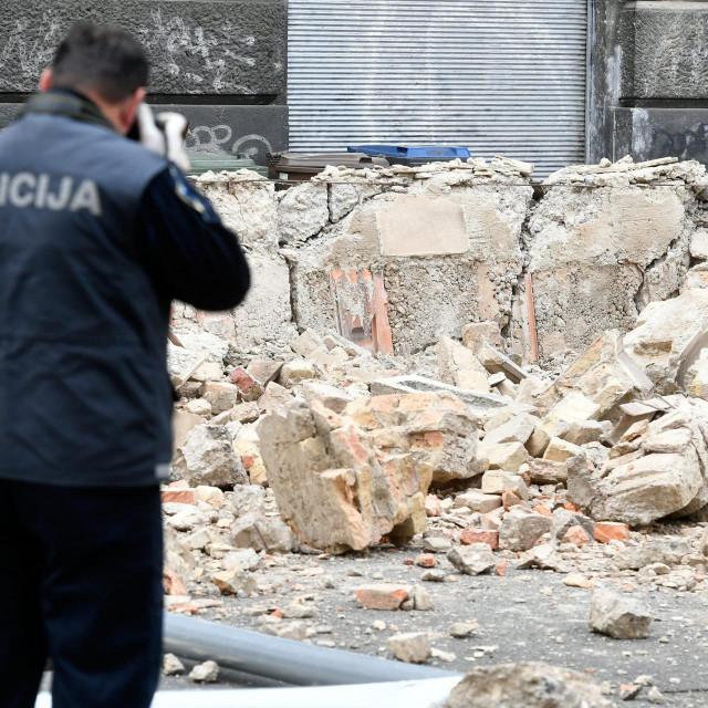 Posljedice potresa u centru Zagreba<br />
