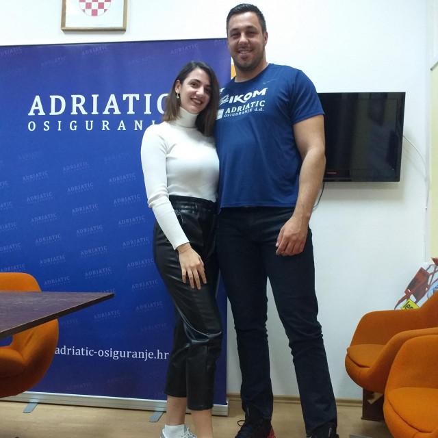Filip Mihaljević i djevojka Gabrijela